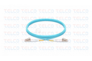 Patch Cord Duplex SM LC/UPC-LC/UPC ,PVC2.0MM,LSZH, 1m