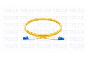 Patch cord LC/UPC-LC/UPC SM Duplex , PVC2.0MM, 5 meter
