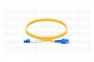 JHT-SLMM2DX-7M - SC/UPC-LC/UPC Single Mode Duplex Patch Cord